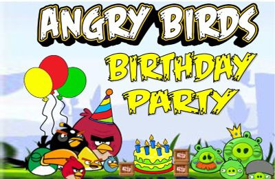 logo Angry Birds HD: Birdday Party