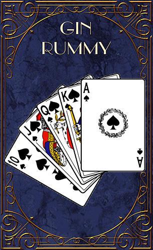 Gin rummy captura de pantalla 1