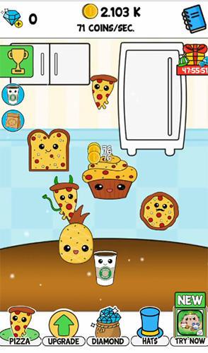 Pizza evolution: Flip clicker für Android