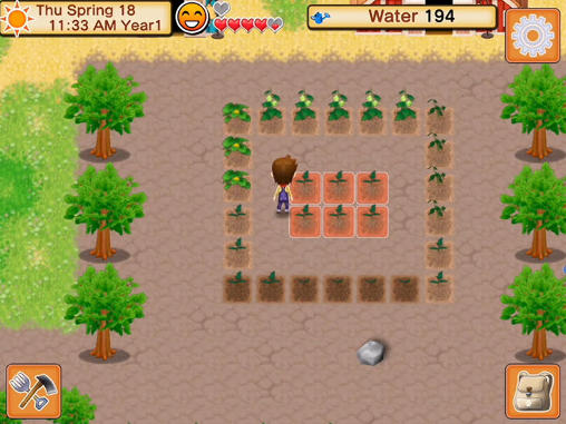 Harvest moon: Seeds of memories para Android