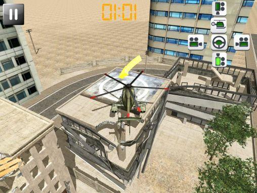 Simulation Helicopter rescue pilot 3D für das Smartphone