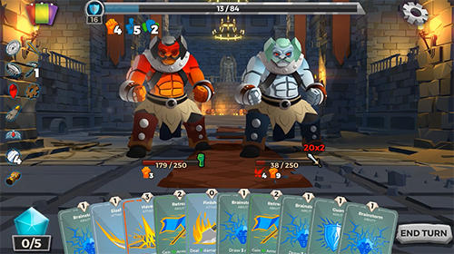 Dungeon tales : An RPG deck building card game für Android
