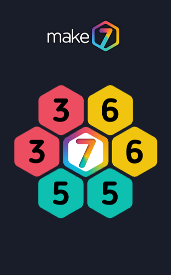 Make 7! Hexa puzzle screenshot 1