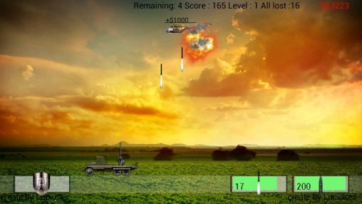 Air defence für Android