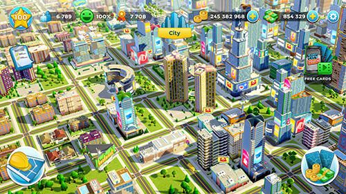 Citytopia: Construisez une ville de votre rêve pour iPhone gratuitement