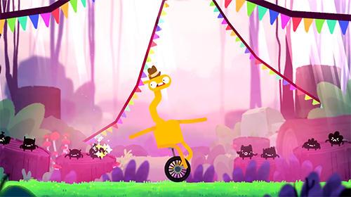 Arcade: Lade Einrad Giraffe auf dein Handy herunter