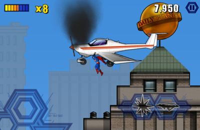 Action games: download Superman to your phone