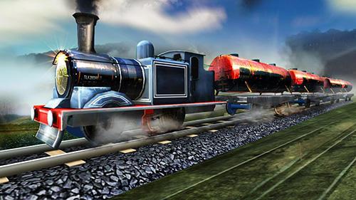 Train oil transporter 3D capture d'écran 1