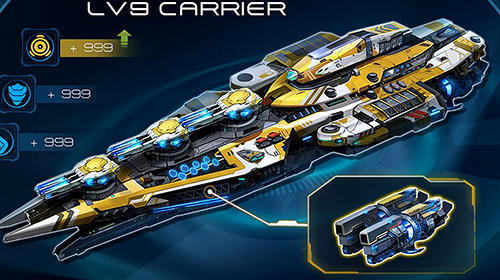 Jogos online Sea fortress: Epic war of fleets para smartphone