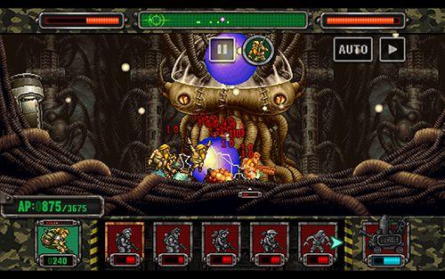 RPG-Spiele Metal Slug Angriff auf Deutsch