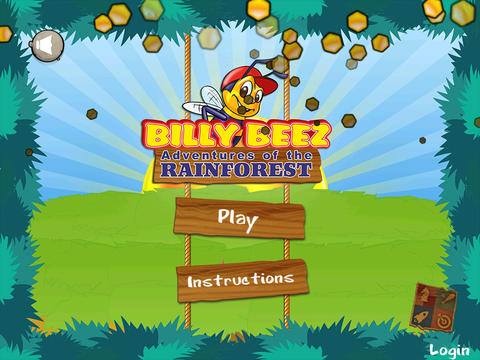Arcade-Spiele: Lade Billy Biene: Abenteuer im Regenwald auf dein Handy herunter