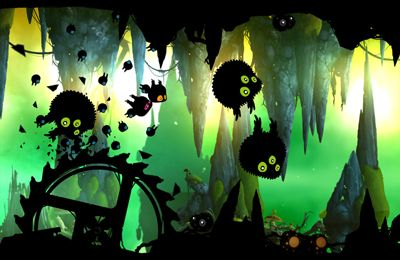 Screenshot BADLAND on iPhone