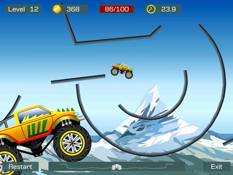 Monster Truck Stunts für iPhone