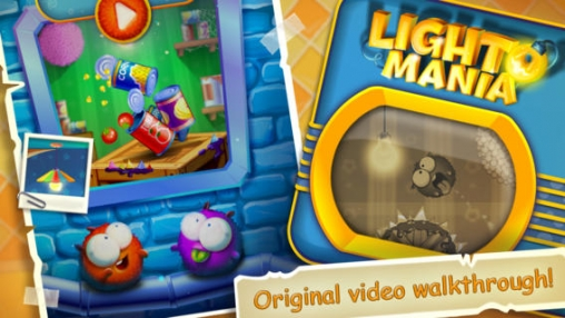 Arcade games: download Lightomania to your phone