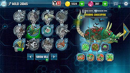 动作 Mutant fighting arena智能手机