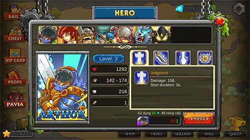 Strategiespiele Frontier wars 2: Rival kingdoms für das Smartphone