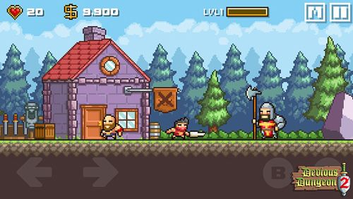 Devious dungeon 2 for iOS devices