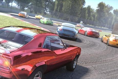 Rennspiele Need for racing: New speed car. Racer für das Smartphone