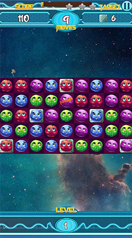 Galactic burst: Match 3 game für Android