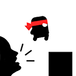 Scream go hero: Eighth note icon