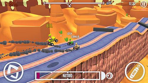 Arcade-Spiele Lane hoggers für das Smartphone