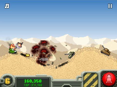 Arcade-Spiele: Lade Top Tank auf dein Handy herunter