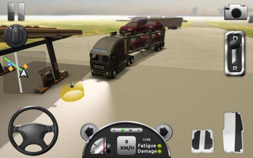 Симуляторы: скачать Truck simulator 3Dна телефон