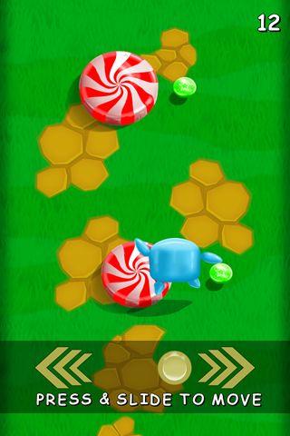 Capture d'écran Andy de bonbon sur iPhone