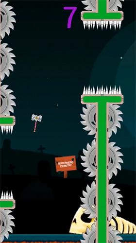 Arcade-Spiele Flappy superhero für das Smartphone