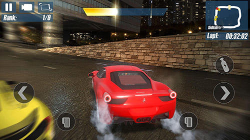 Real road racing: Highway speed chasing game screenshot 2