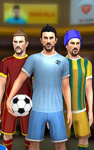 Fußball David Villa pro soccer auf Deutsch