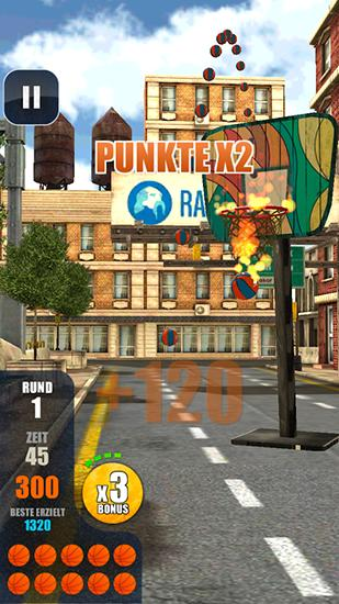 Hood hoops: Basketball für Android