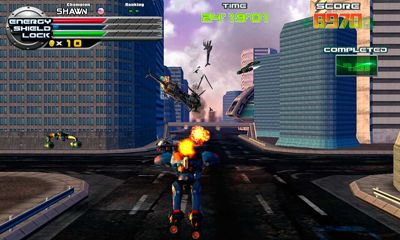 Third-person shooter games ExZeus 2 in English