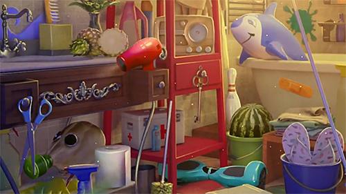 Hidden objects: House cleaning auf Deutsch