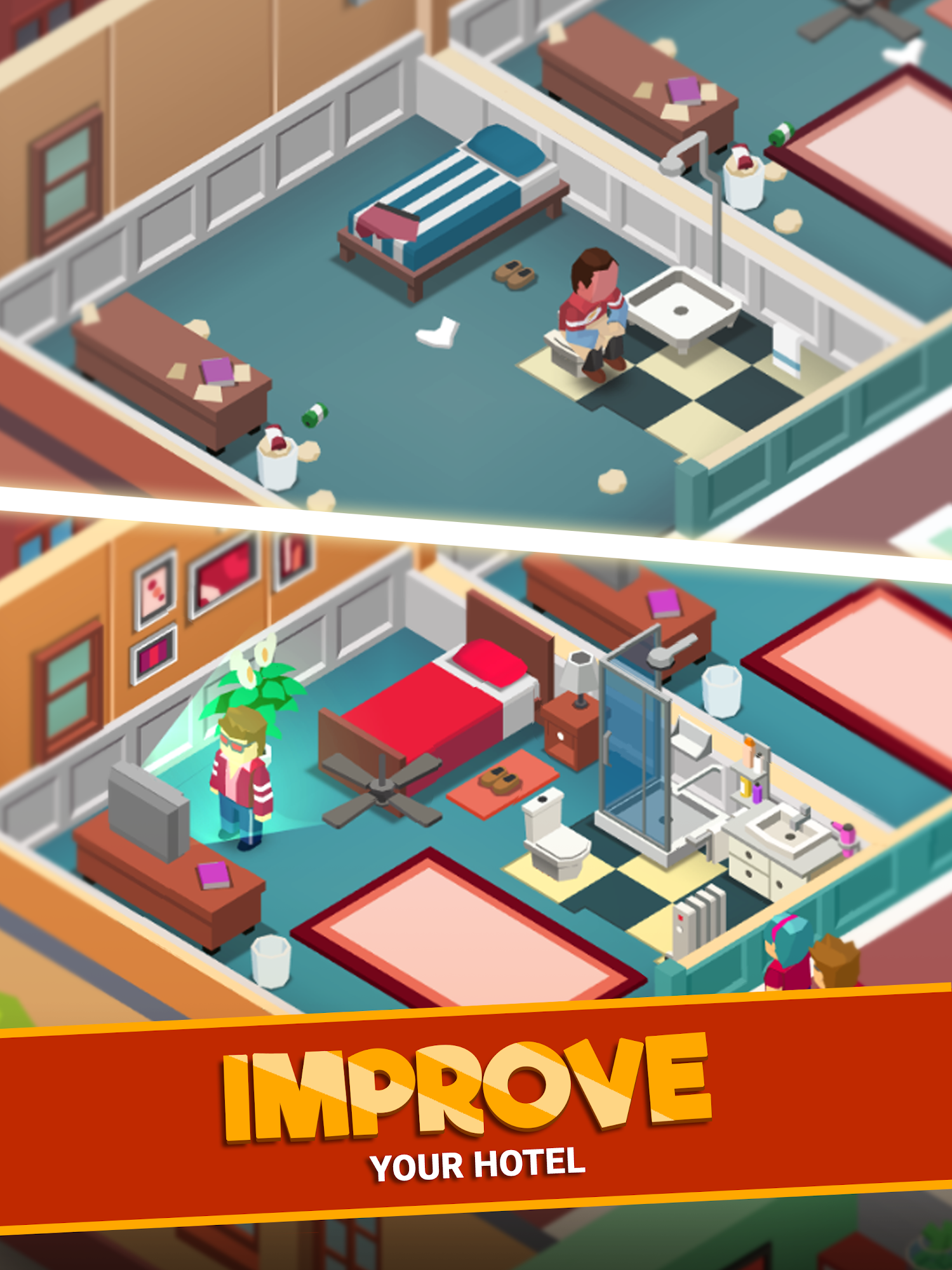 Jeu Android Hotel Empire Tycoon - Idle Game Manager Simulator gratuit
