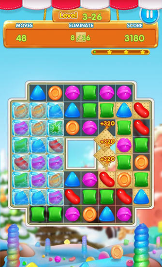 Candy heroes mania deluxe Screenshot