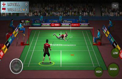 Echtes Badminton für iPhone