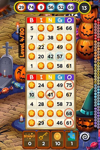 Bingo quest: Halloween holiday fever para Android