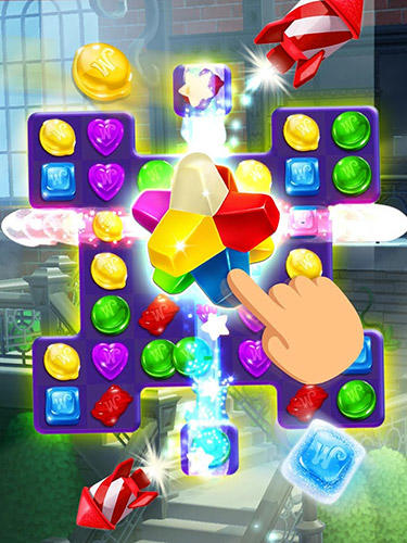 Wonka's world of candy: Match 3 pour Android