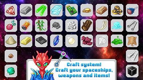 RPG Space life für das Smartphone