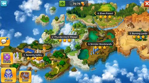 Battle arena: Heroes adventure. Online RPG für Android
