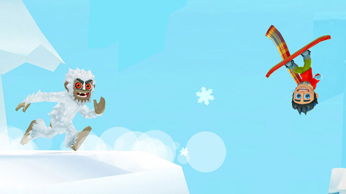 Screenshot Ski Safari 2 auf dem iPhone