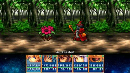 RPG-Spiele Link of hearts für das Smartphone