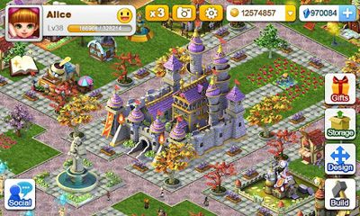 Online games Miracle City for smartphone