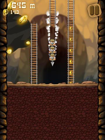 Arcade-Spiele: Lade Goldgräber auf dein Handy herunter