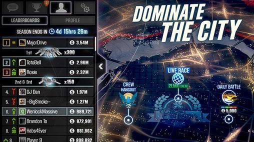 アンドロイド用ゲーム CSR2 のスクリーンショット