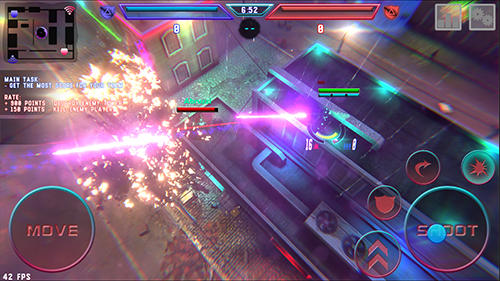 Hassle: Mobile online shooter für Android