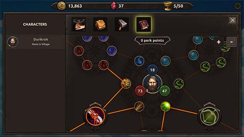 RPG-Spiele Age of Hebers für das Smartphone