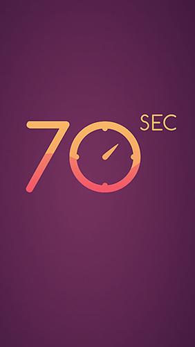 логотип 70 секунд: Внимание. Реакция. Скорость