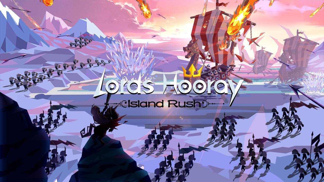 Lords Hooray: Island Rush captura de pantalla 1